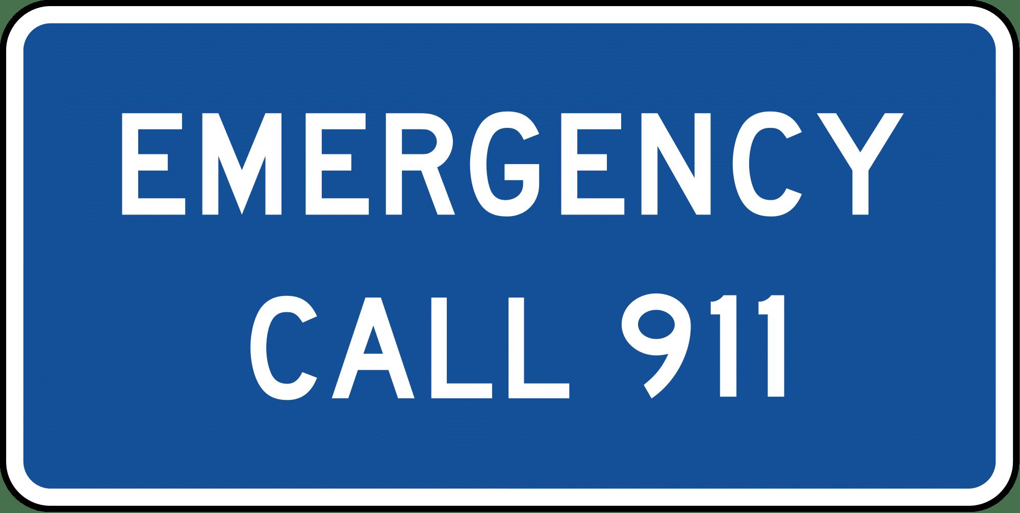 appel d'urgence aux usa