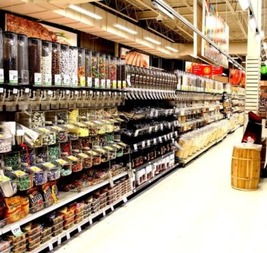 supermarchés aux usa