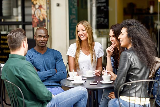 rencontre café etudiants usa