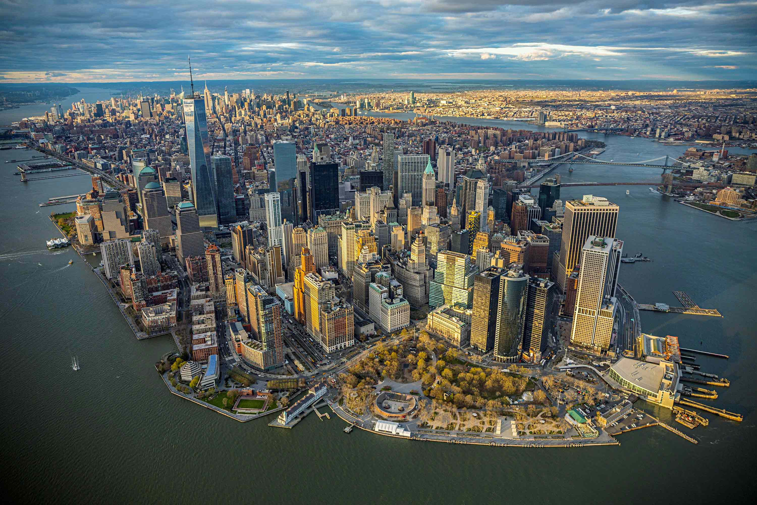 vue panoramique sur New York
